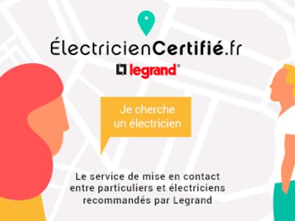électricien certifié legrand
